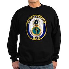 USS Hamilton DDG-60 Sweatshirt