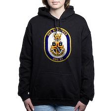 DDG-57 USS Mitscher Women's Hooded Sweatshirt