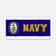 DDG-59 USS Russell Aluminum License Plate