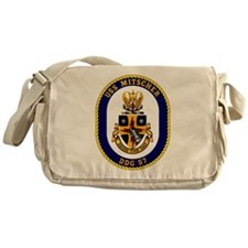 DDG-57 USS Mitscher Messenger Bag