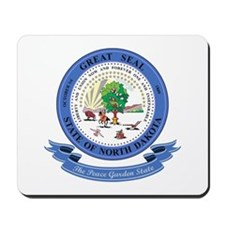 North Dakota Seal Mousepad