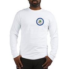 North Dakota Seal Long Sleeve T-Shirt