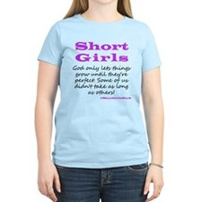 Short Girls (Purple) T-Shirt
