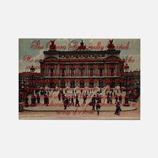 Paris Opera ~ Rectangle Magnet