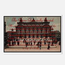 Paris Opera ~ Postcards (Package of 8)