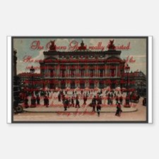 Paris Opera ~ Rectangle Decal