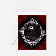 Phantom (Red) ~ Greeting Card