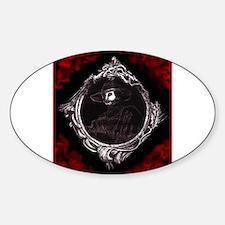 Phantom (Red) ~ Oval Decal