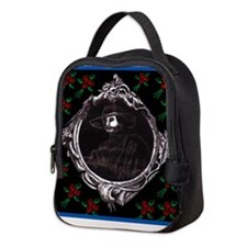 Phantom, (with Red Roses) Neoprene Lunch Bag