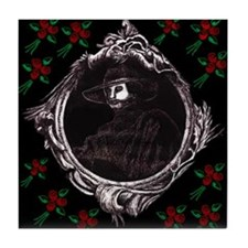 Phantom (with Red Roses) ~ Tile Coaster