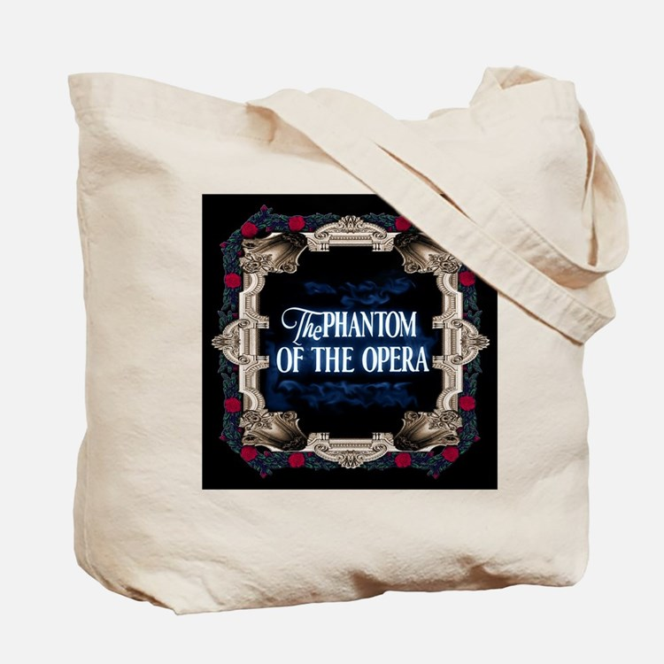 Phantom (with Red Roses) ~ Tote Bag