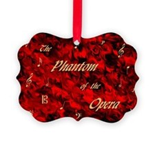 Phantom of the Opera, Red Swirl Logo, Ornament