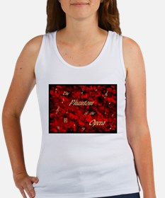 Cute Angel of music Women's Tank Top