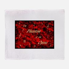 Cute Phantom of the opera kids Throw Blanket