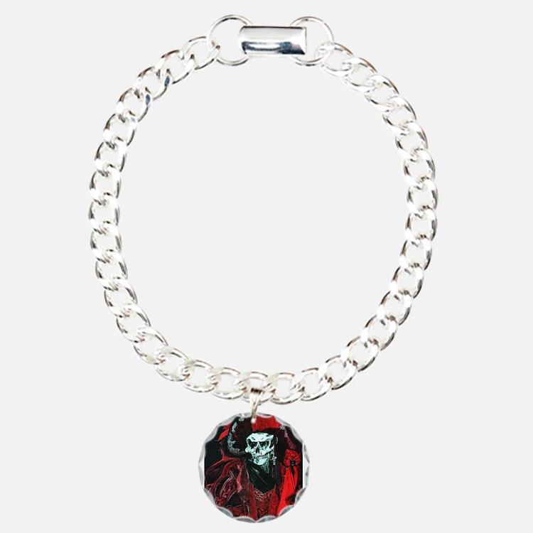 La Mort Rouge - Red Death Bracelet