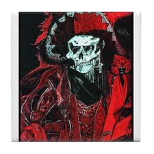La Mort Rouge - Red Death Tile Coaster