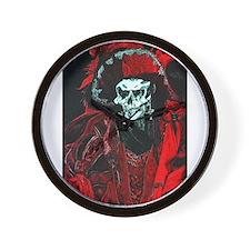 La Mort Rouge - Red Death Wall Clock
