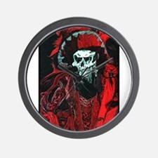 La Mort Rouge - Red Death Wall Clock