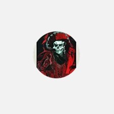La Mort Rouge - Red Death Mini Button