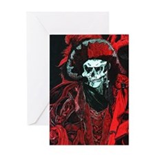 La Mort Rouge - Red Death Greeting Card
