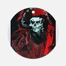 La Mort Rouge - Red Death Ornament (Round)