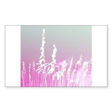 yellow pink sky white sea oats Decal