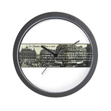 Paris Opera House View Wall Clock