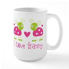 love grammy pink ladybugs Mugs