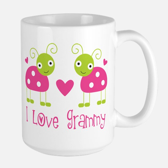 love grammy pink ladybugs Mugs