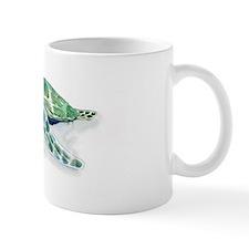 a sea turle Small Mugs