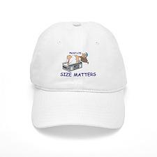 Prostate size matters Baseball Cap