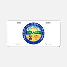 Ohio Seal Aluminum License Plate