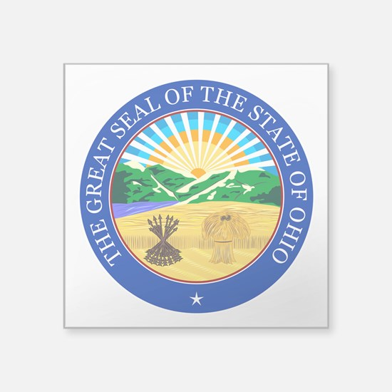 Ohio Seal Sticker
