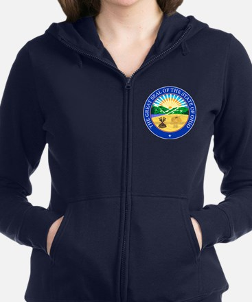 Ohio Seal Women's Zip Hoodie