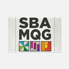South Bay Area Modern Quilt Guild Logo Magnets