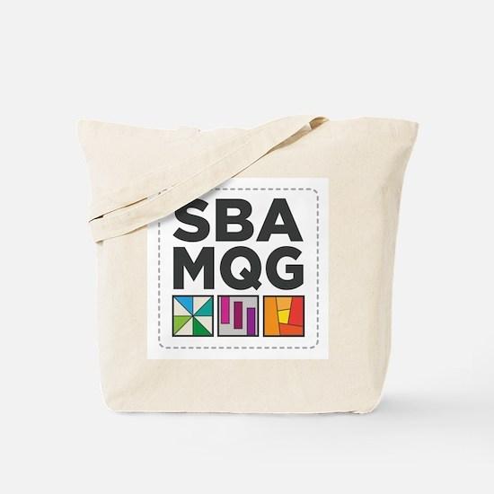 South Bay Area Modern Quilt Guild Logo Tote Bag