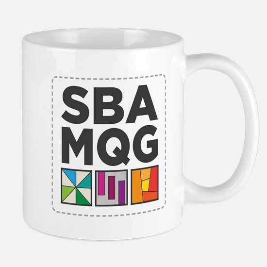 South Bay Area Modern Quilt Guild Logo Mugs