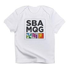 South Bay Area Modern Quilt Guild Logo Infant T-Sh