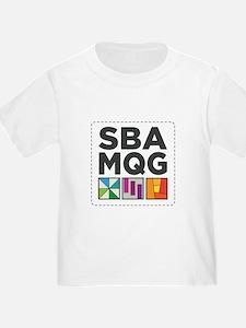 South Bay Area Modern Quilt Guild Logo T-Shirt