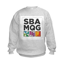 South Bay Area Modern Quilt Guild Logo Sweatshirt