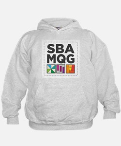South Bay Area Modern Quilt Guild Logo Hoodie