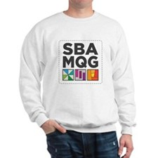 South Bay Area Modern Quilt Guild Logo Jumper
