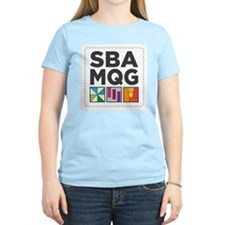 South Bay Area Modern Quilt Guild Logo T-Shirt