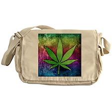 Pot Leaf Messenger Bag