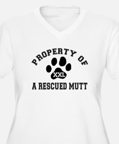 Property of a Rescued Mutt T-Shirt