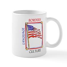 Borders Language Culture Mugs
