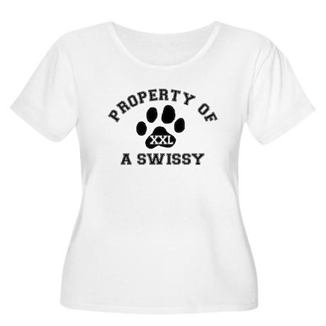 Swissy Women's Plus Size Scoop Neck T-Shirt