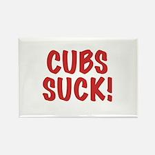 Cubs Suck! Rectangle Magnet