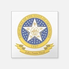 Oklahoma Seal Sticker