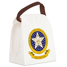 Oklahoma Seal Canvas Lunch Bag
